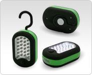 IBA LIG8052 27 LED compact worklight (needs 3 AAA) hook/mag