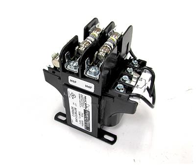 PALMER B075BTZ13RB TRANSFORMER FOR AF52/80 CONTACTOR 460/230V, PRIMARY - 115V SEC 75VA WITH FUSES (2)FNQR3/10, SECONDARY FUSE FNM8/10