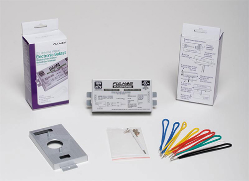 FHM RHA-UNV-213-K RaceHorse A - CFL Ballast - Universal Voltage - (PS) - for 1 or 2 x 13W CFL's - Contractor Kit