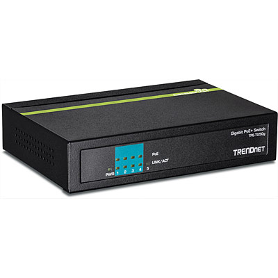 TNT TPE-TG50G 5-port Gigabit PoE+ Switch