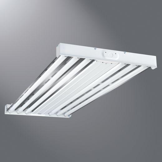 CPR HBL454T5-UPL-L5 F-BAY 4/54W T5HO 5000K LAMPS INCL 120/277 W/UPLIGHT V HANGERS