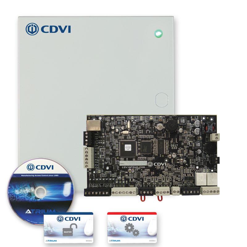 CDVI A22KITB ATRIUM 2-DOOR CONTROLLER KIT- A22 + (2+ NANOPB)