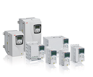 ABB ACS355-03U-05A6-4 + J400 3HP 3-Phase Supply Voltage, 380 - 480V AC, IP20, Open Style Drive. 3-Phase Output, 3.0 Hp. Includes: Advanced Control Panel. Frame Size R1. H: 9.41