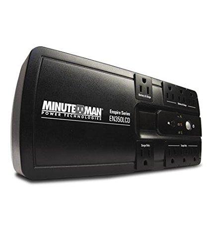 MINUTEMAN EN550 ENSPIRE 550VA STAND-BY UPS 8 OUTLETS