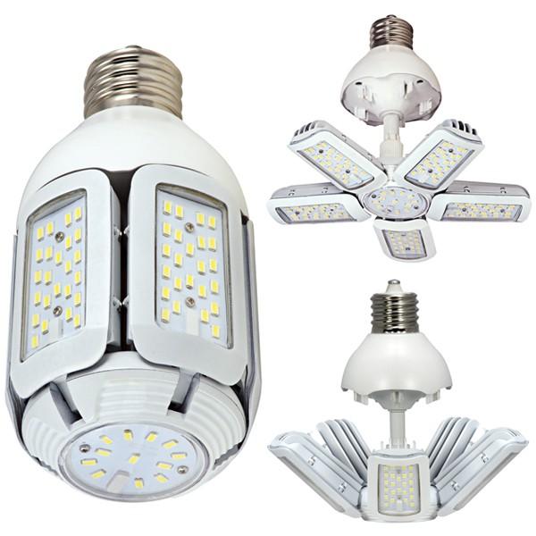 SAT S29751 40W/LED/HID/MB/5000K/100-277V/EX39 40 watt - LED 175W HID Replacement; 5000K; Mogul extended base; Adjustable beam angle; 100-277 volts