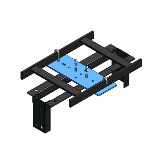 RXL 1005-02-12 RACK TO RUNWAY MOUNTING PLATE KITS, 3