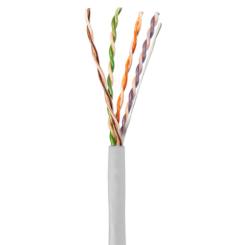 HIT 39419-8-WH2 Cat5e 4pr 24ga plenum white cable