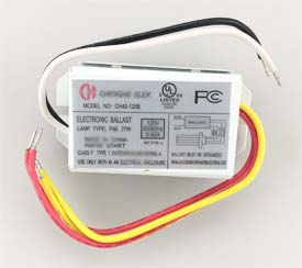 KEY KTEB-242-UV-PS-DW COMPACT FLUORESCENT ELECTRONIC BALLAST PROGRAM START 120/277V