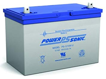 PSG PS-121000U 12V 100AH SEALED RECHARGEABLE BATTERY, UNIVERSAL